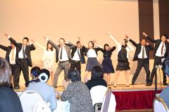 一体感のあるダンスを披露します!
